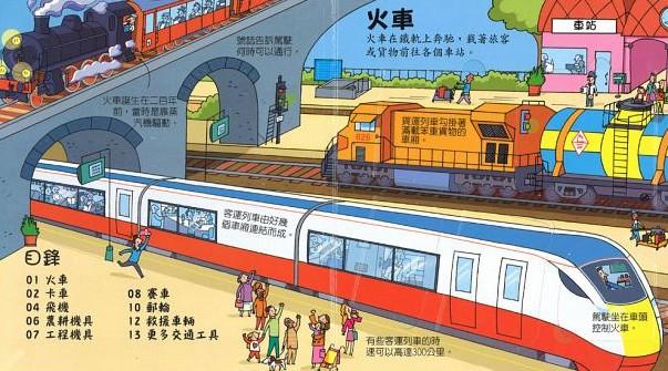 內頁放大:Look inside─神奇的交通工具(79折)