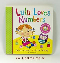 Lulu Loves Numbers (硬頁翻翻書)79折