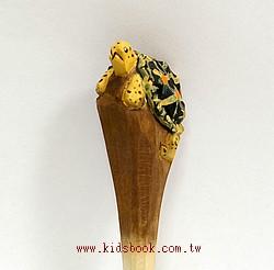 小烏龜:純手工木頭動物筆(原子筆)