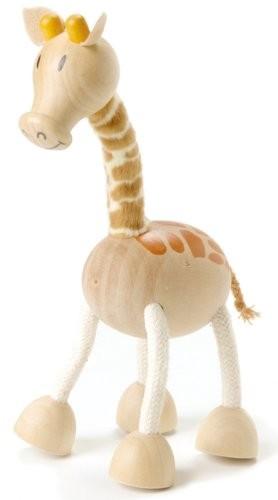 內頁放大:長頸鹿:澳洲Anamalz有機楓木動物玩偶