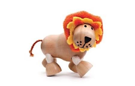 內頁放大:獅子:澳洲Anamalz有機楓木動物玩偶