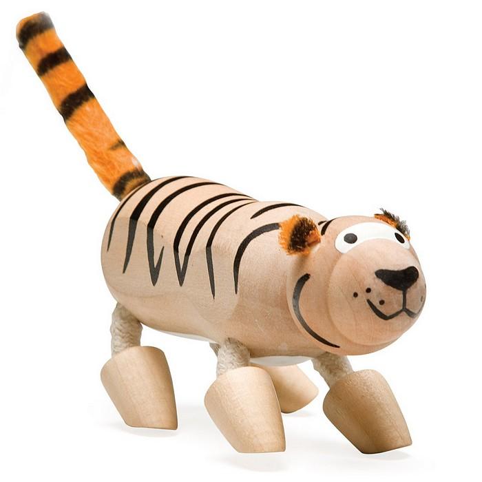 內頁放大:老虎:澳洲Anamalz有機楓木動物玩偶