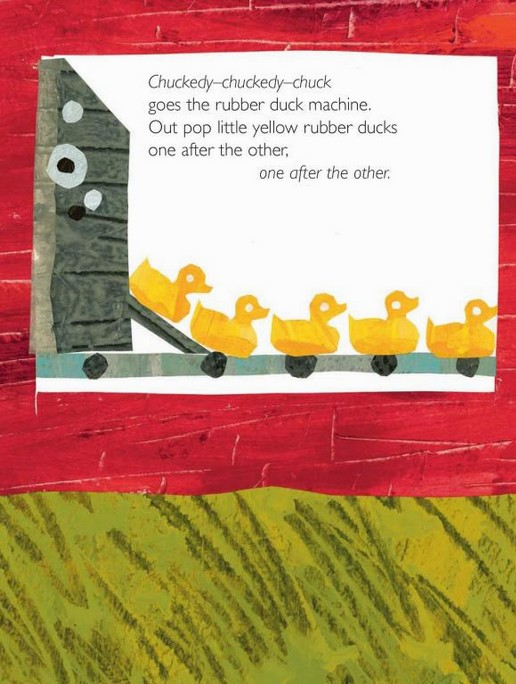內頁放大:10 Little Rubber Ducks (10隻橡皮小鴨)硬頁書 (85折)