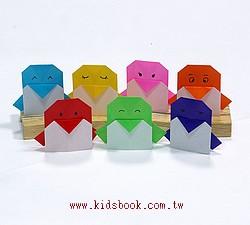 可愛小企鵝摺紙體驗包(免費贈送品)(需要的客人,請加入購書清單喔!每張訂單,限量一份)