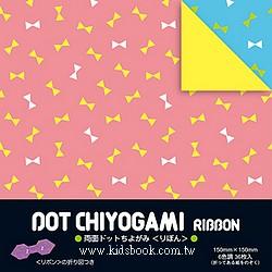 日本花紙(雙面):蝴蝶結(6色調36枚)(現貨數量:5)