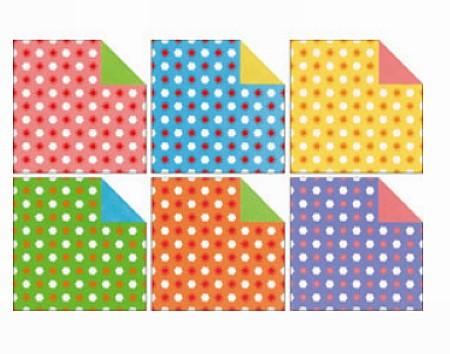 內頁放大:日本花紙(雙面):太陽白雲(6色調36枚)(現貨數量>5)