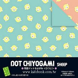 日本花紙(雙面):小綿羊(6色調36枚)(現貨數量>5)