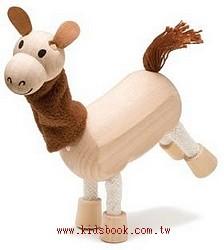 駱馬:澳洲Anamalz有機楓木動物玩偶