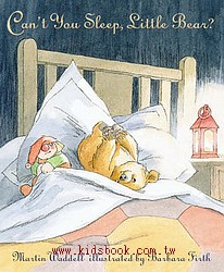 Can,t you sleep,little bear?(你睡不著嗎?)(樣書出清)(現貨數量:1)精裝本