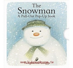 THE SNOWMAN A-PULL OUT POP-UP BOOK /雪人立體小書