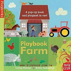 Playbook Farm(角色扮演立體遊戲書)