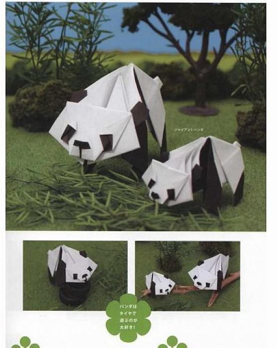 內頁放大:可愛動物摺紙示範書(達人等級)