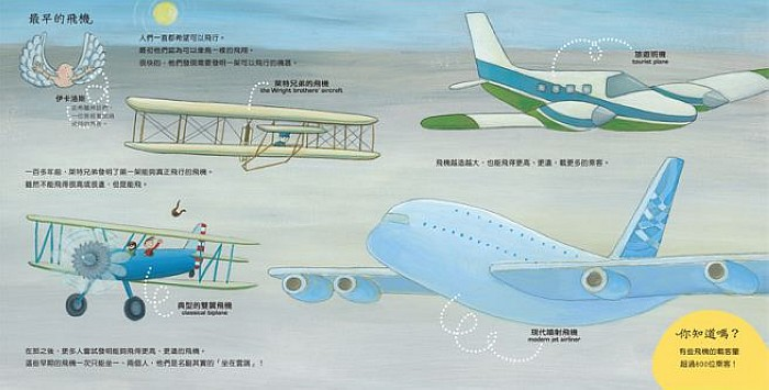內頁放大:搭飛機去旅行(85折)