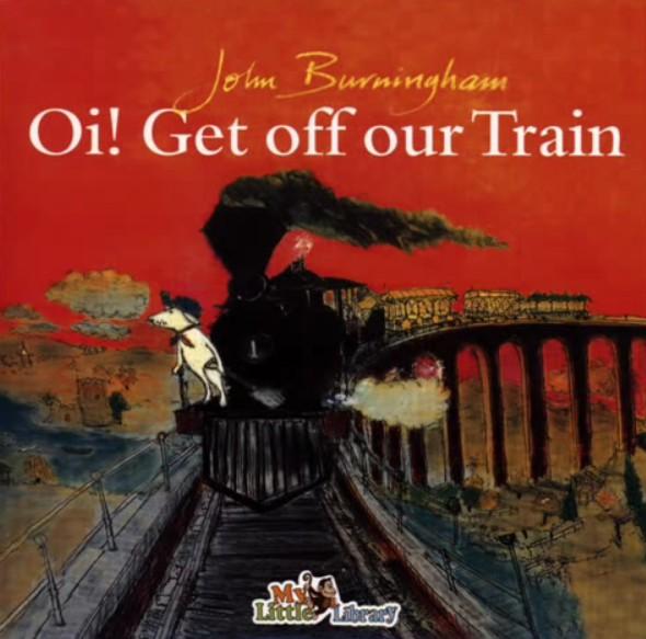 內頁放大:OI! GET OFF OUR TRAIN /單CD