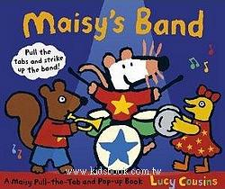 小鼠波波立體書:Maisy,s Band(波波樂團)