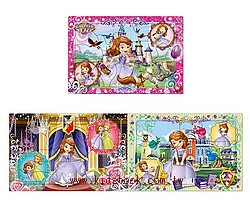 小公主蘇菲亞Ⅰ(15.13.9pcs):階梯式日本幼兒拼圖