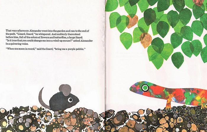 內頁放大:Alexander and the Wind-Up Mouse(阿力和發條老鼠) (平裝本)