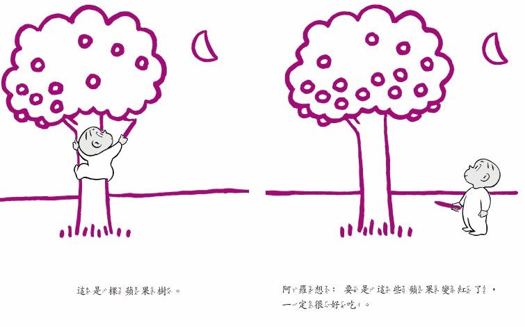 內頁放大:阿羅有枝彩色筆(85折)
