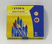 德國LYRA:玻璃蠟筆(洗澡蠟筆)