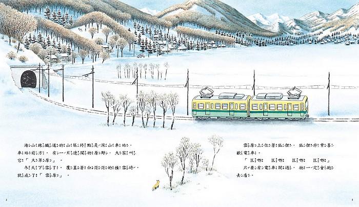 內頁放大:海山線電車:狐狸站長 ( 79折)
