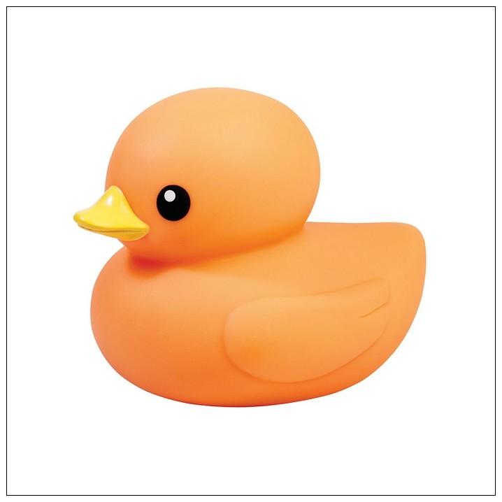 內頁放大:橘色小鴨 (單隻) (大) TOLO 正版授權生產(Rubber Duck)