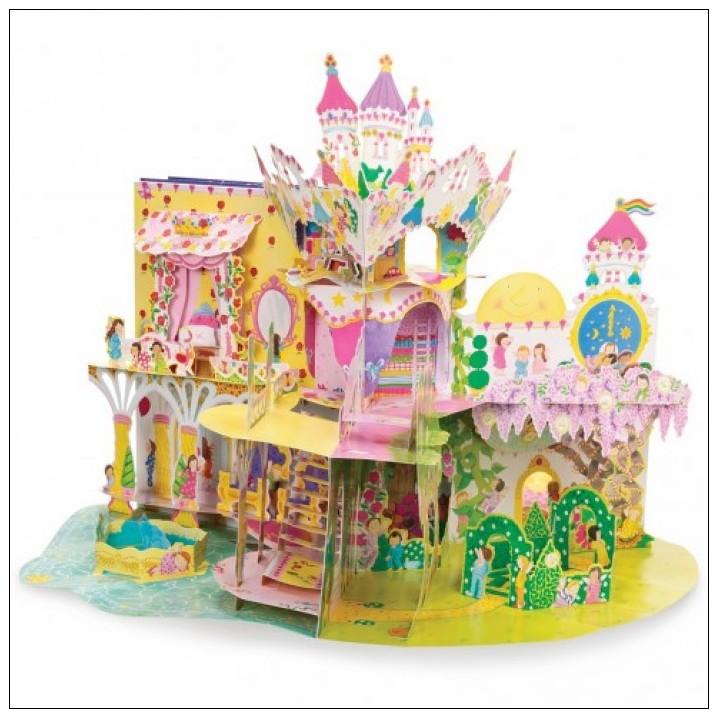 內頁放大:花仙子角色扮演立體遊戲書:MY FAIRYTALE DREAM PALACE (花仙子的夢幻皇宮)