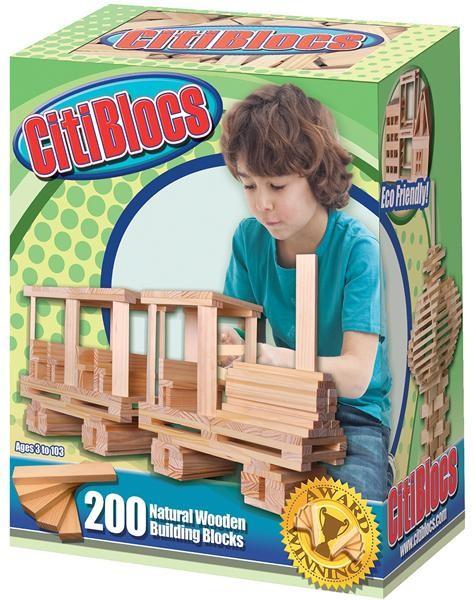 內頁放大:【美國CitiBlocs】骨牌創意積木-原色200