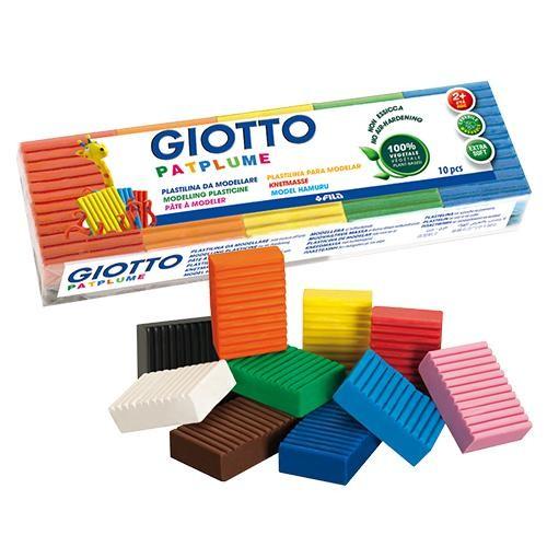 內頁放大:【義大利 GIOTTO】蔬菜黏土隨行包10色(50g)